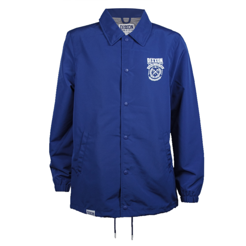 WELD COACHES JACKET BLUE - MENS
