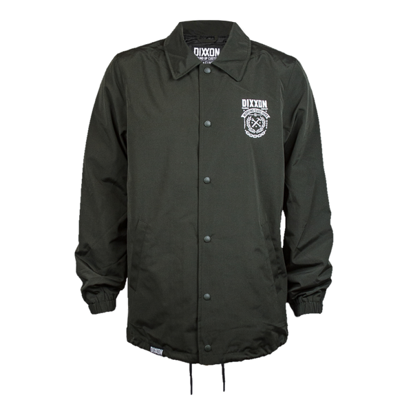 WELD COACHES JACKET O.D. GREEN - MENS