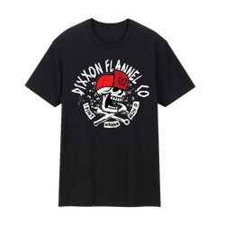 NEVER GROW UP T-SHIRT BLACK - YOUTH