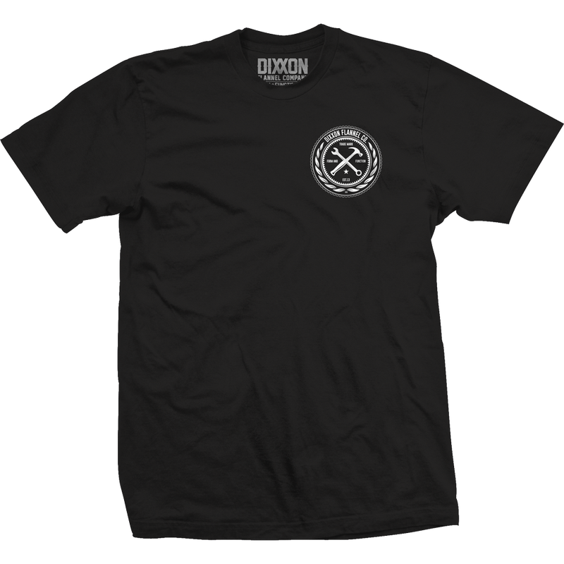 BRANDED T-SHIRT BLACK - MENS