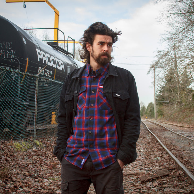 HOMETOWN FLANNEL - MENS