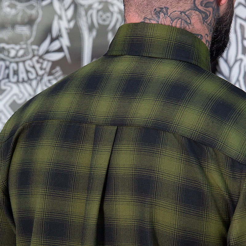 LONE WOLF FLANNEL - MENS