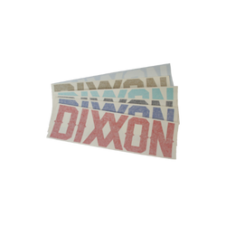 "6"" DIXXON DIE CUT STICKER - SOLD IN SINGLES ASSORTED"