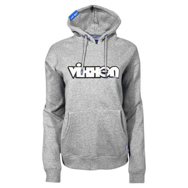 VIXXON XO HOODIE HEATHER GREY - WOMENS