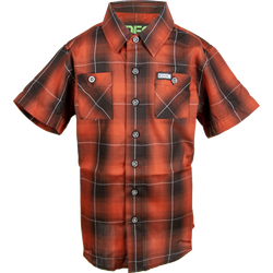 OLD IRON BAMBOO SHORT SLEEVE BUTTON UP - YOUTH