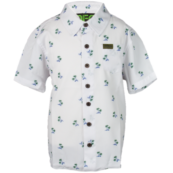 BREEZY SHORT SLEEVE BUTTON UP - YOUTH