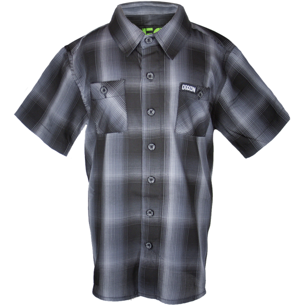 CRUZ BAMBOO SHORT SLEEVE BUTTON UP - YOUTH