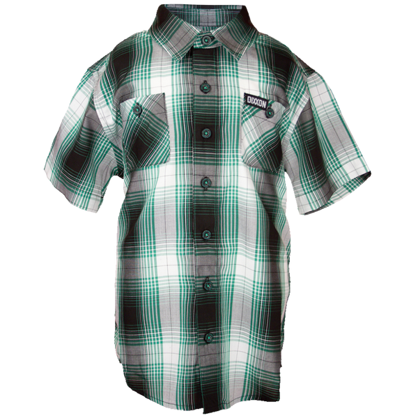 KILLARNEY BAMBOO SHORT SLEEVE BUTTON UP - YOUTH