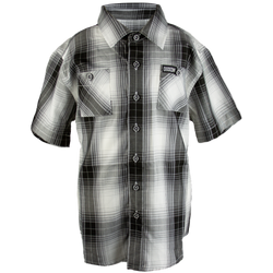 SUTHERLAND BAMBOO SHORT SLEEVE BUTTON UP - YOUTH