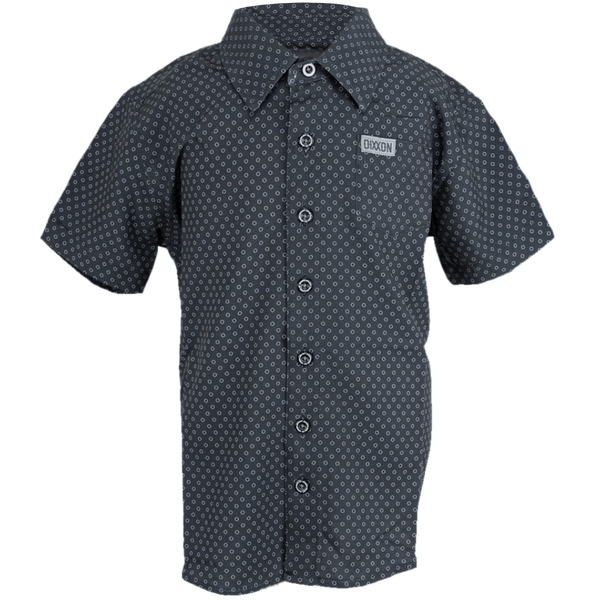 WEST END SHORT SLEEVE BUTTON UP - YOUTH