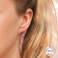 Load image into Gallery viewer, Sterling Silver Mini Studs Earring