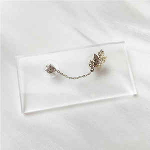 Butterfly Chain Drop Piercing