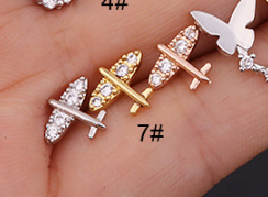 Tiny Sparkle Cartilage Earring Barbell