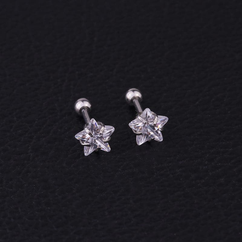 Star Cartilage Barbell