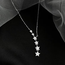 Load image into Gallery viewer, Dazzling Cubic Star Pendant Necklace