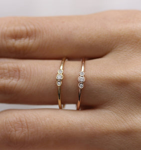 Simple Zirconia Rings