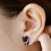 Load image into Gallery viewer, Cute Kitten Earring