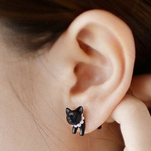 Cute Kitten Earring