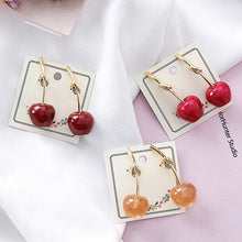 Load image into Gallery viewer, Cherry Knot Earring
