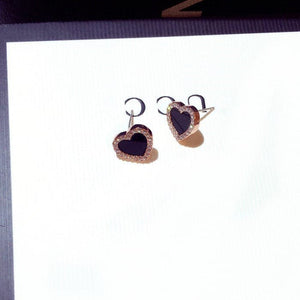 Simple Hearts Studs