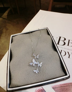 Love is in the Air Butterfly Necklace
