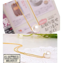 Load image into Gallery viewer, Double Pearls Necklace