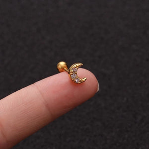 Tiny Cartilage Earring Barbell
