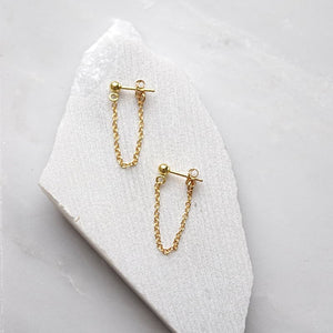 Simplistic Chain Earrings