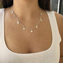 Load image into Gallery viewer, Celestial Stars chocker necklace