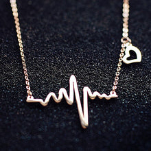 Load image into Gallery viewer, Heartbeat Necklace