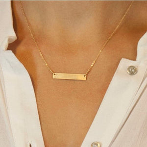 Simple T-Bar necklace