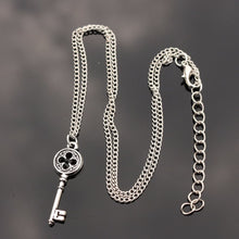 Load image into Gallery viewer, Precious Silver Key Necklace