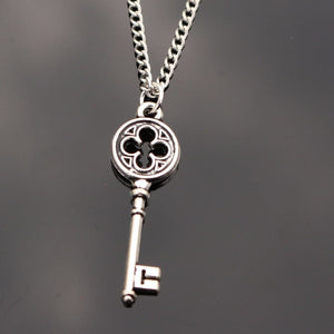 Precious Silver Key Necklace