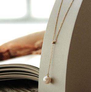 Pearl Drop Necklace Pendant