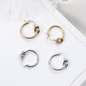 Classic Knot Earring