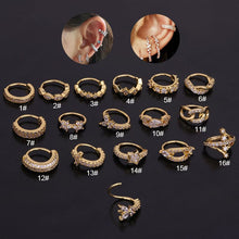 Load image into Gallery viewer, Ear Piercing Body Jewelry Hoop Cartilage Earring