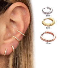 Load image into Gallery viewer, Huggie Hoop Earring (without Hinge)