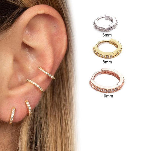 Huggie Hoop Earring (without Hinge)