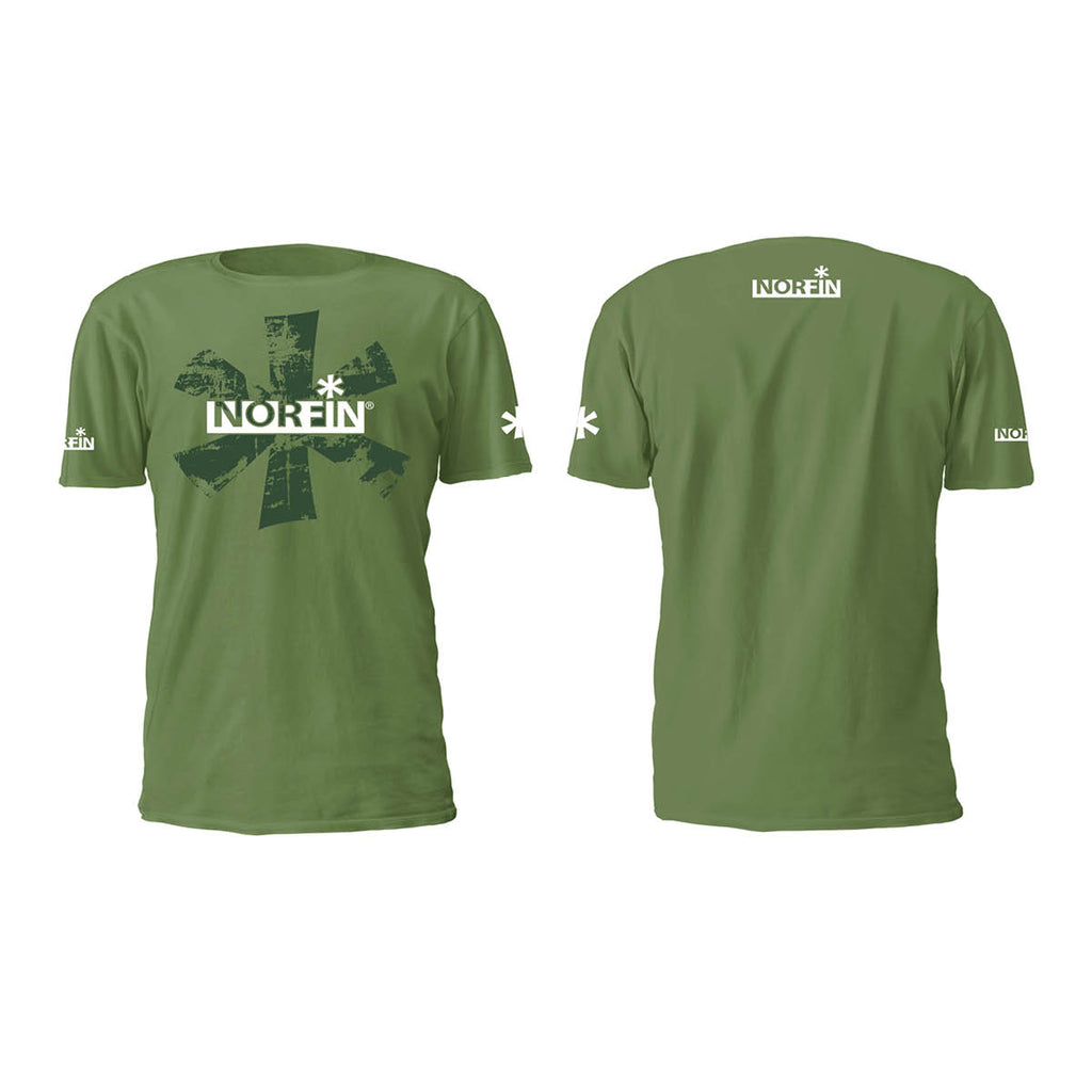 NORFIN T-SHIRT GREEN