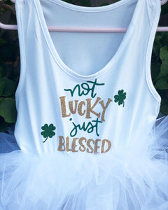 Not lucky just blessed design*