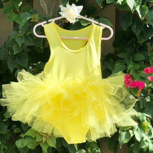 Yellow Short Sleeves TUTU
