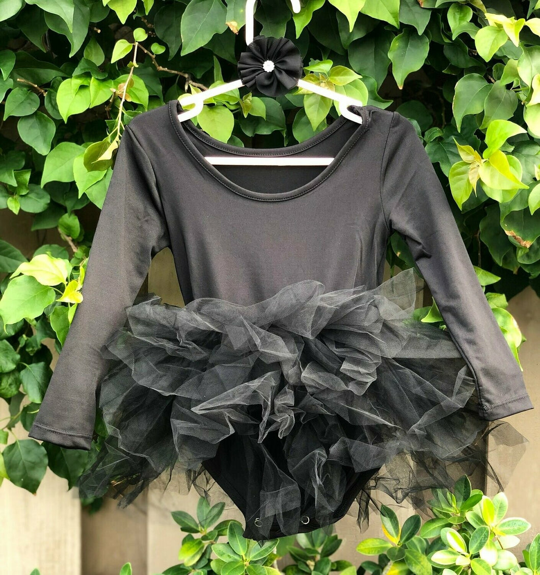 Black Long Sleeves TUTU