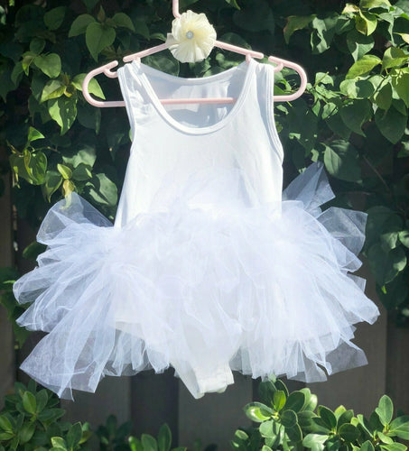 White Short Sleeves TUTU