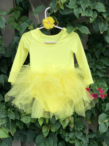 Yellow Long Sleeves TUTU