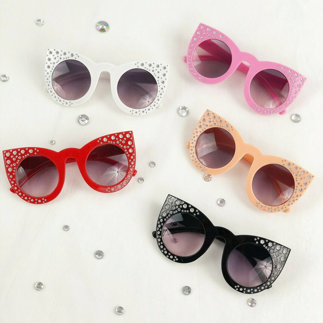 Cat eyed Kids Sunglasses
