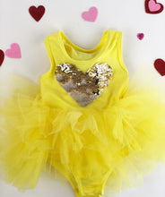 Load image into Gallery viewer, Tutu Sweetheart (Customizable reversible heart TuTu)