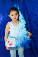Load image into Gallery viewer, Blue Ombre Short Sleeves TUTU (Frozen inspired)