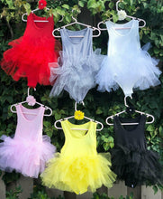 Load image into Gallery viewer, White Short Sleeves TUTU