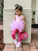 Load image into Gallery viewer, Baby Pink Short Sleeves TUTU