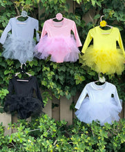 Load image into Gallery viewer, White Long Sleeves TUTU